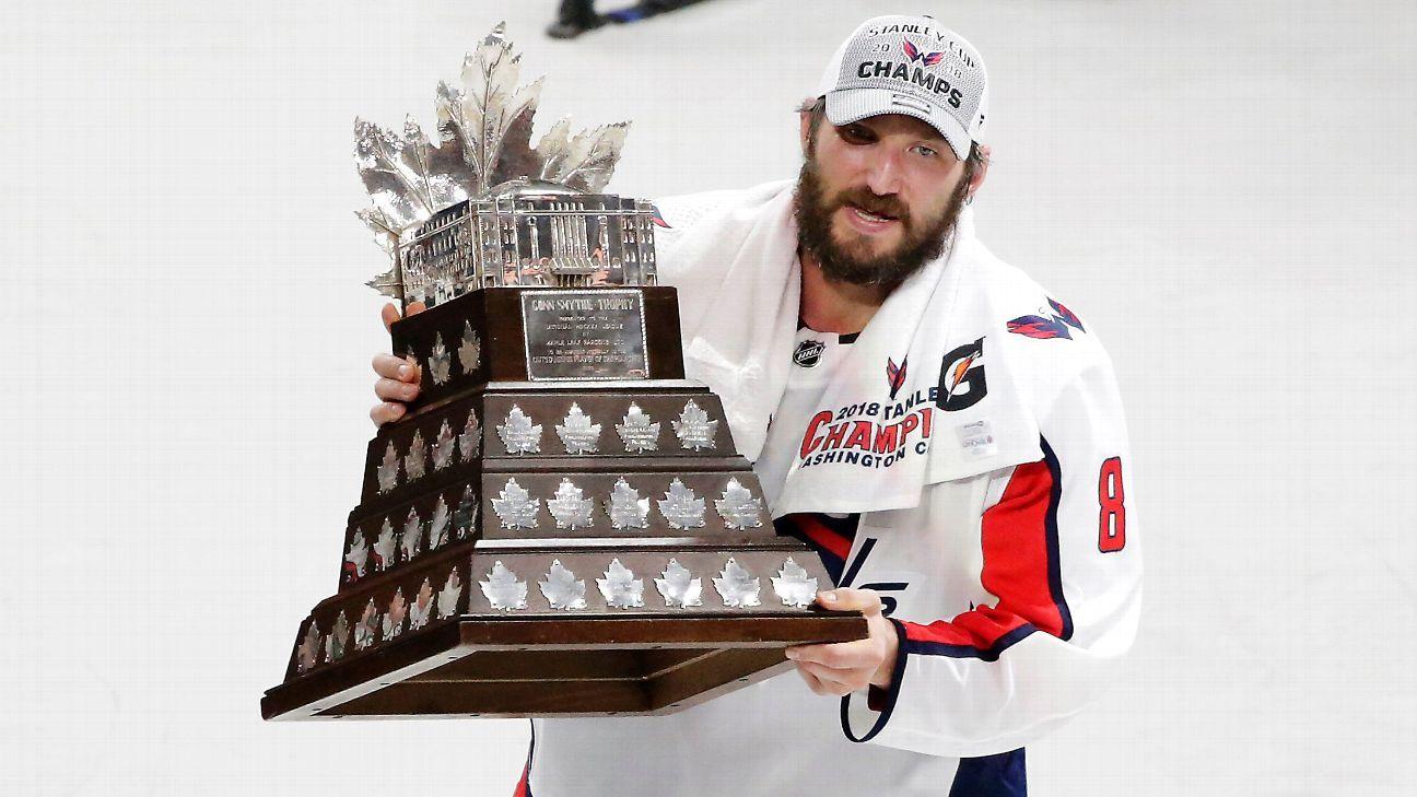 Alex Ovechkin of Washington Capitals wins Conn Smythe Trophy as playoffs MVP 8406069357