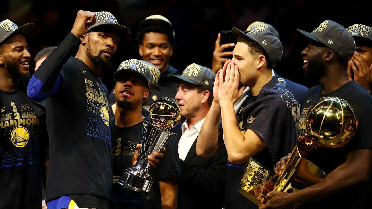 3b3a2a3527d4 Kevin Durant named NBA Finals MVP