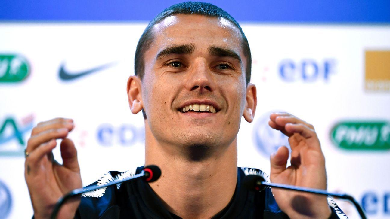 82f5ef4800e4 France s Antoine Griezmann expects emotional clash vs Uruguay ...