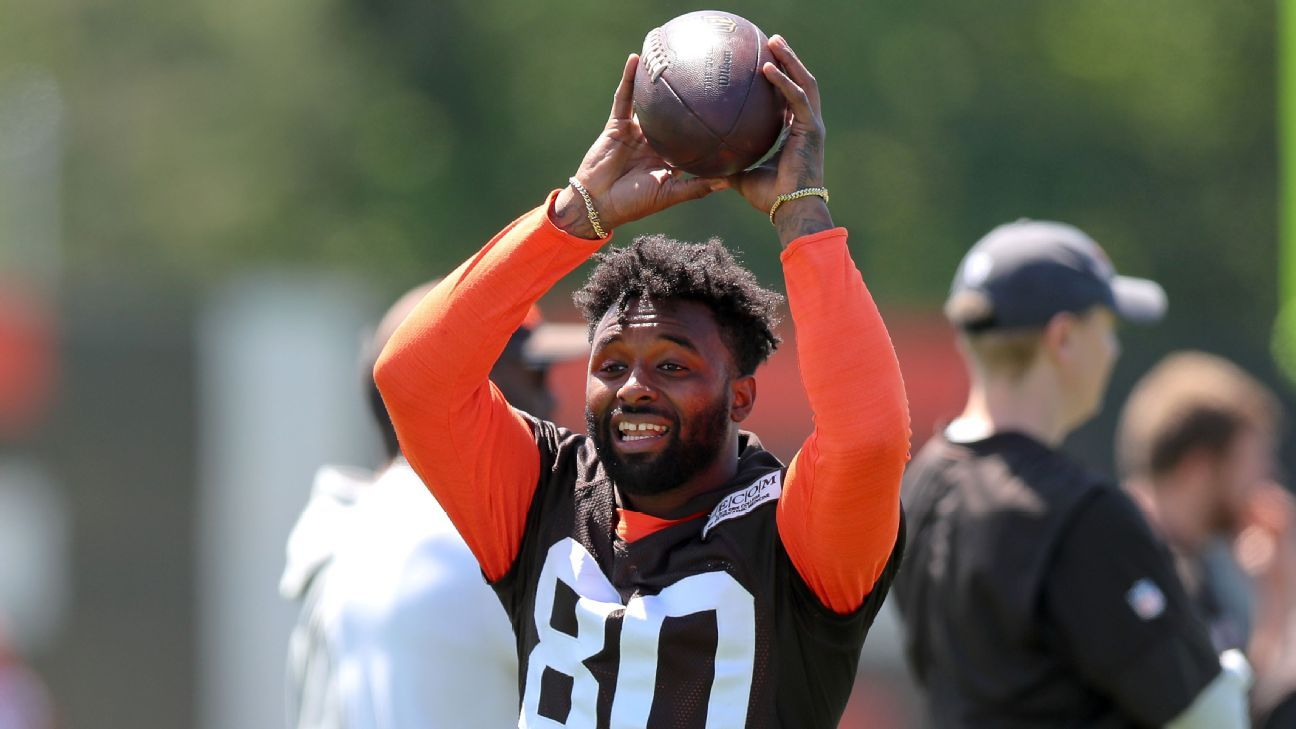 5b76c8a2036 Jarvis Landry has lobbied Cleveland Browns to trade for Odell Beckham Jr.