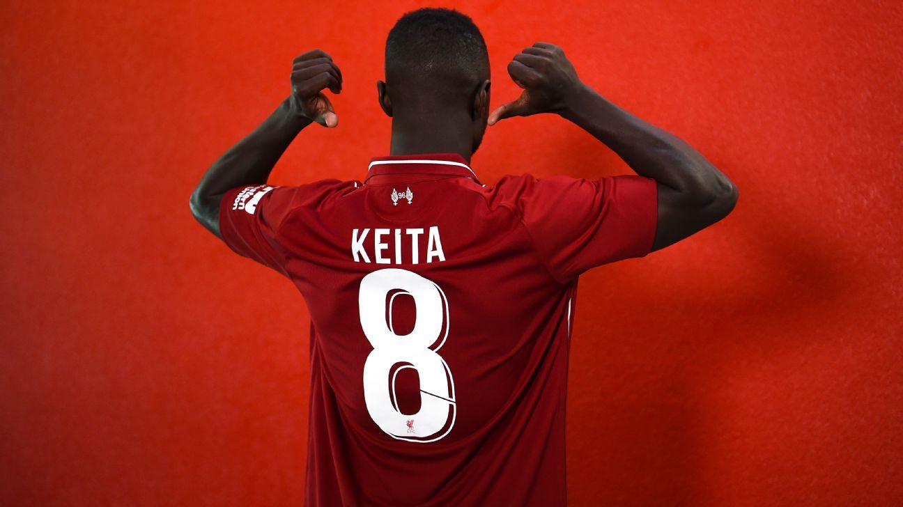 new concept 2f68d d6b23 Liverpool's Naby Keita promises to provide fireworks in the ...