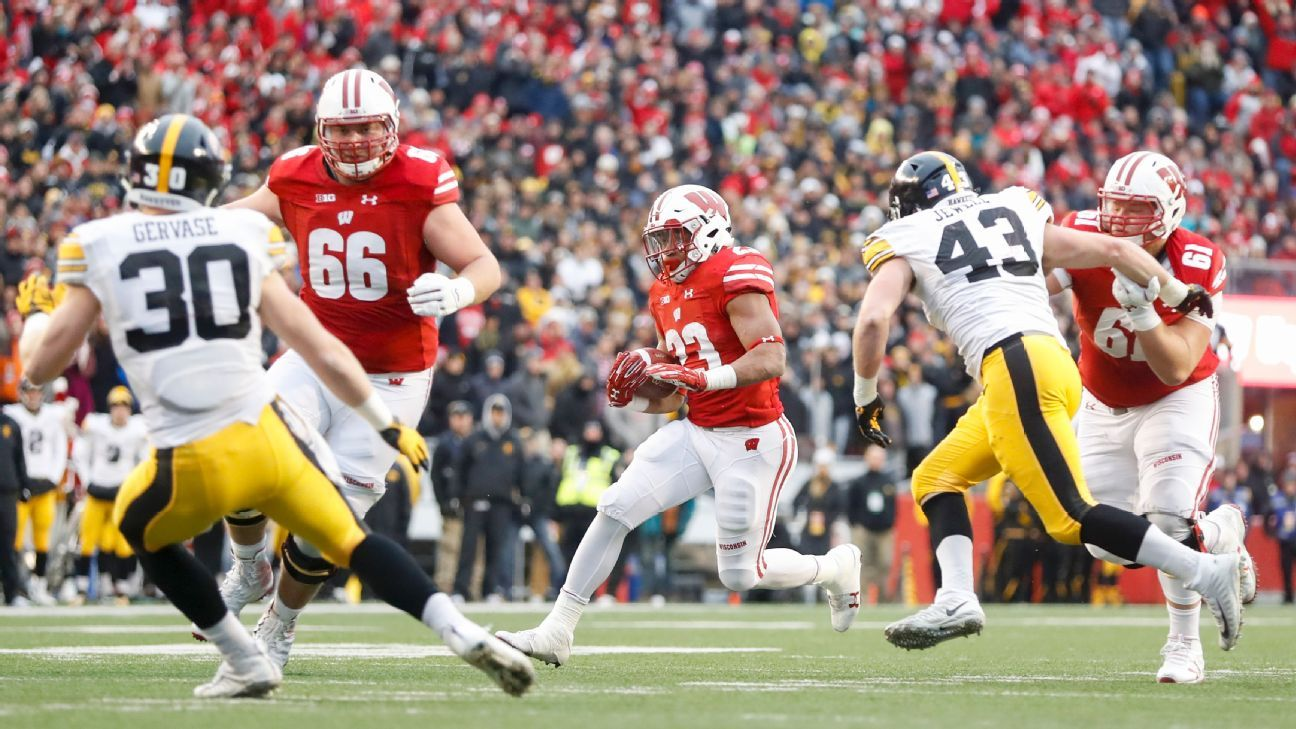 Wisconsin Badgers lead best offensive lines for 2018 college