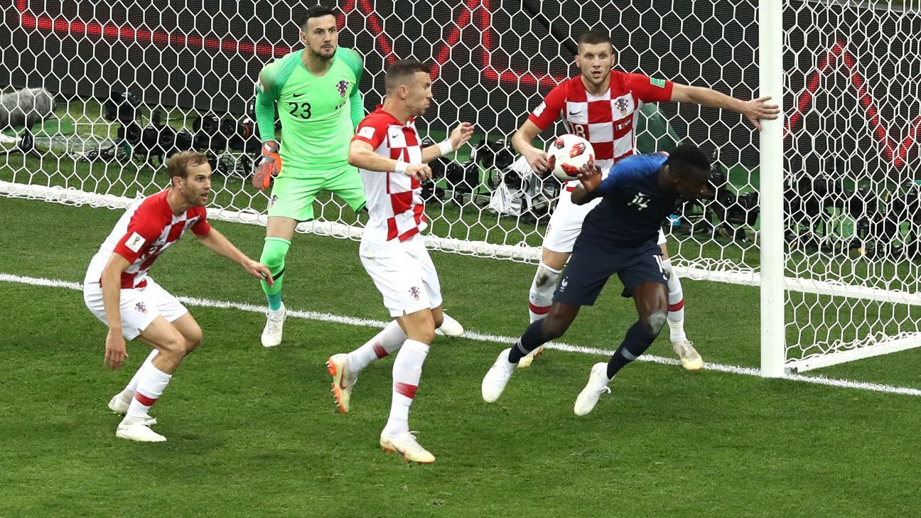 Croatia boss Zlatko Dalic: 'You don't give a penalty like that in a World Cup final'