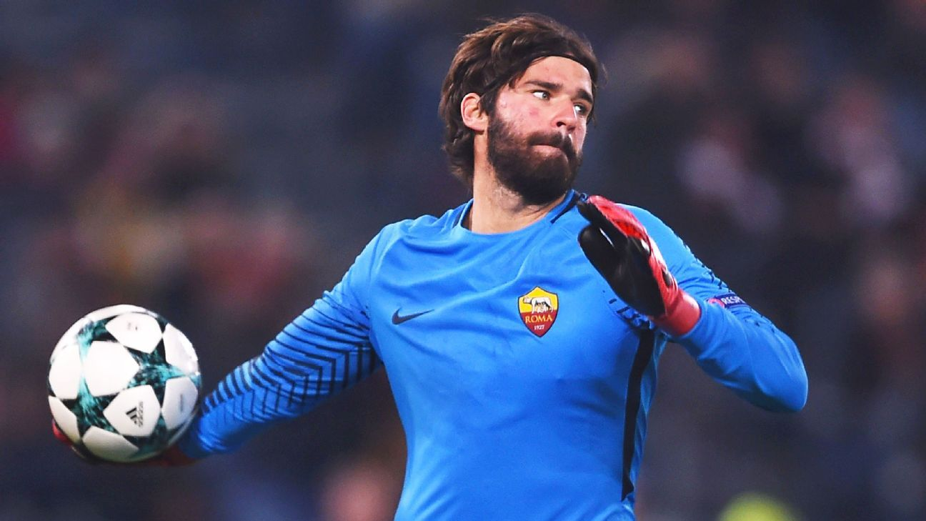 dcd2ad29472 Liverpool target Alisson Becker wants future resolved before World Cup  starts