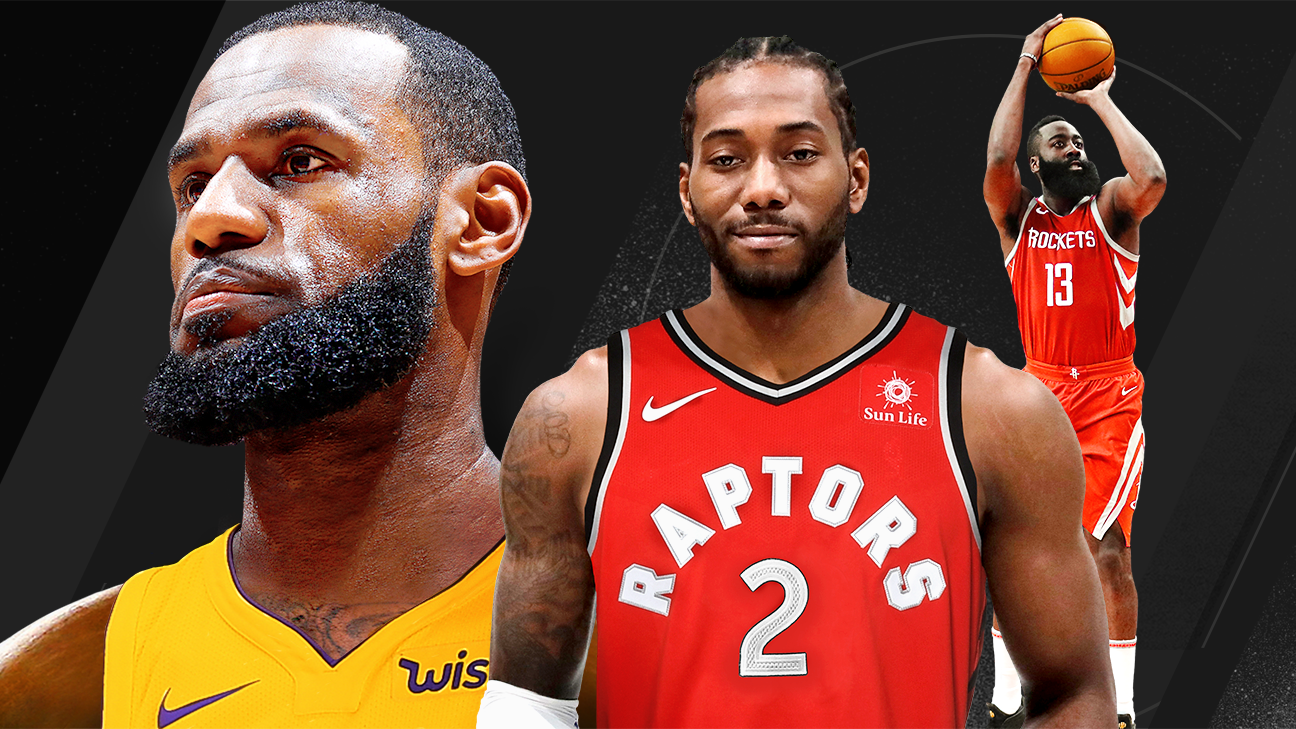 52572881c NBA power rankings - How LeBron James and Kawhi Leonard change everything