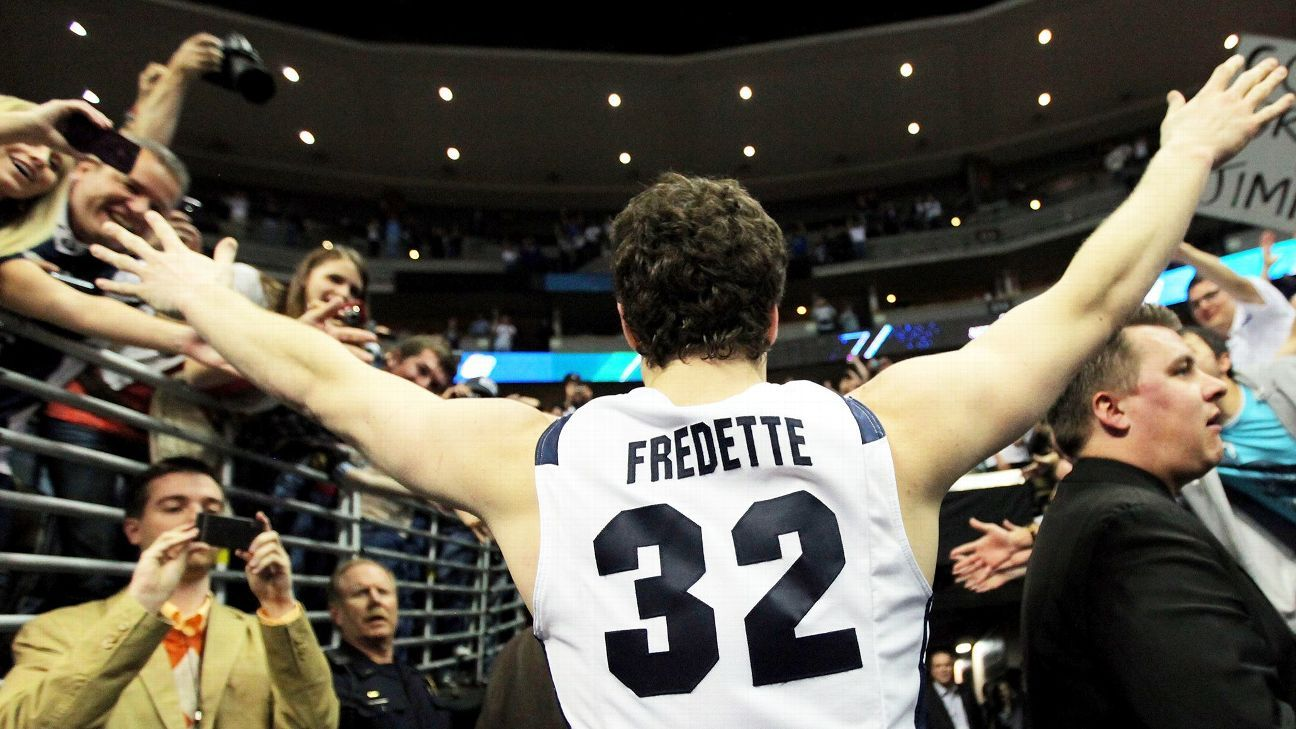 timeless design 37989 b02e6 Jimmer Fredette Brigham Young Cougars The Basketball Tournament