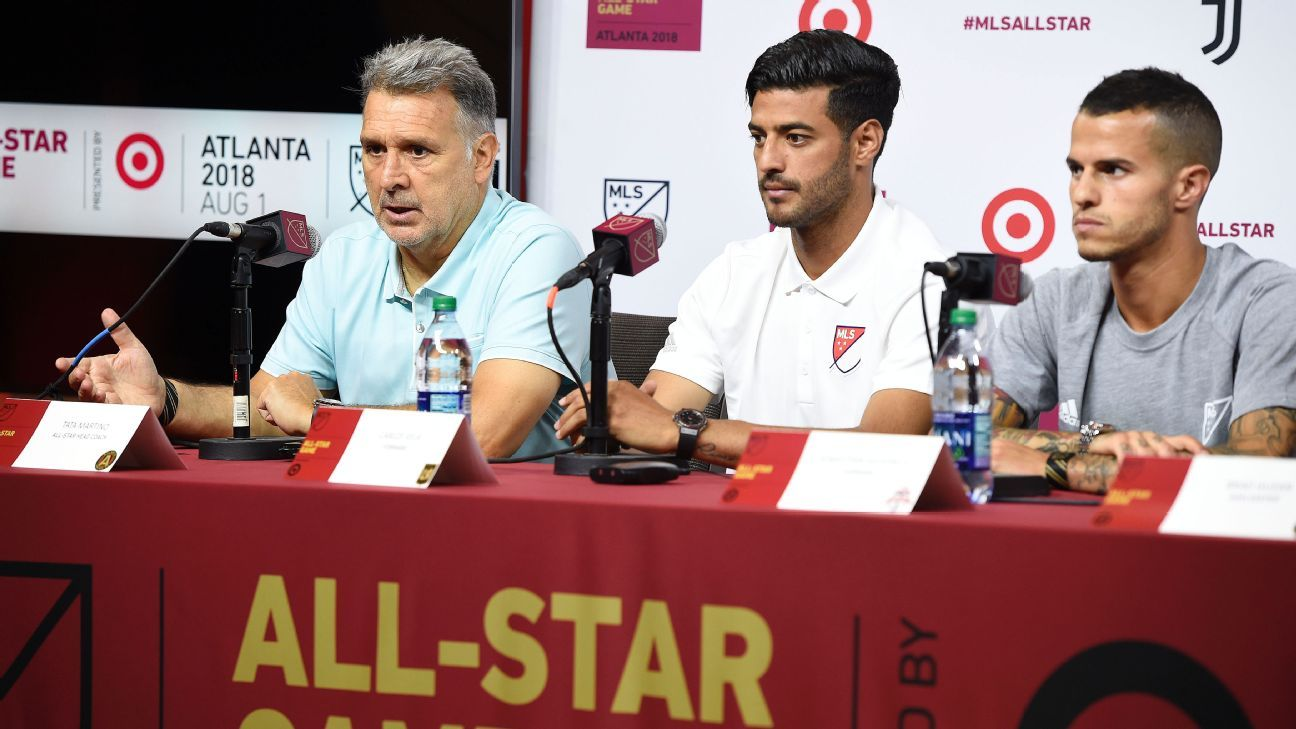 15ff8bda143e MLS All-Star Game  Behind the scenes with Tata Martino and his players