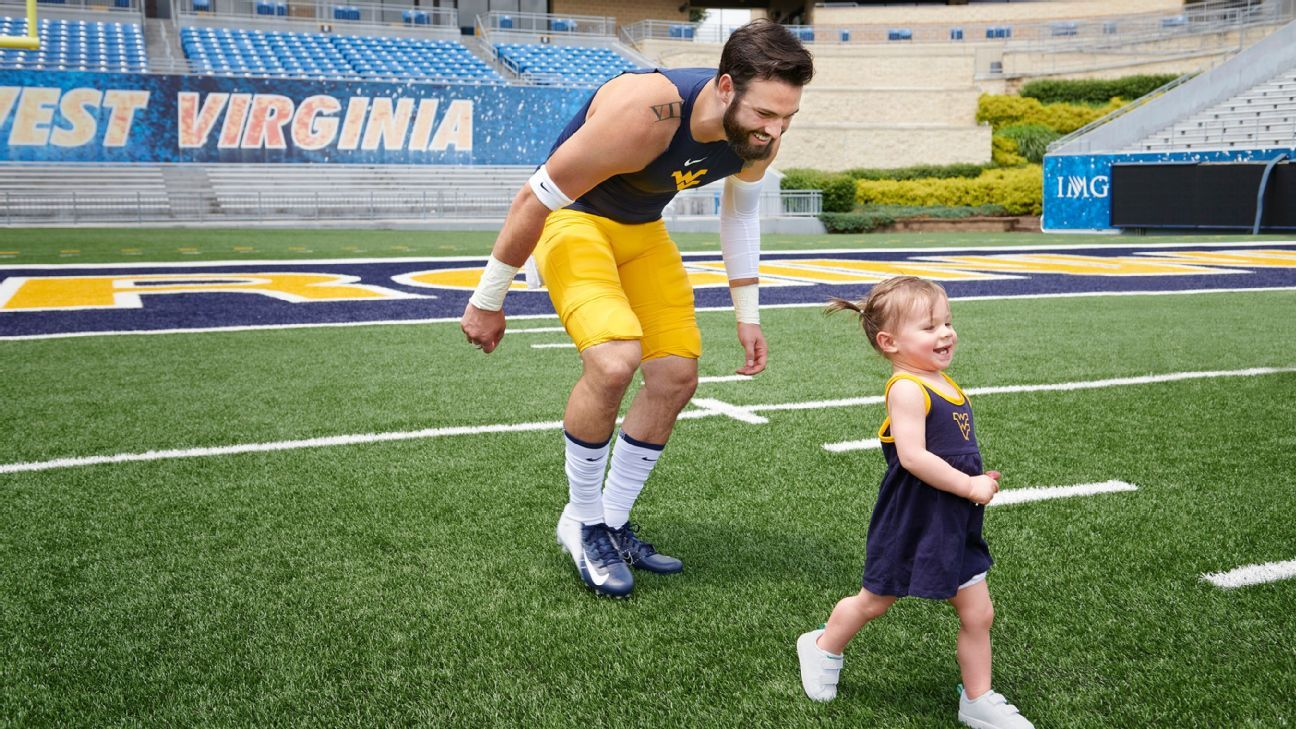the latest e5e38 c605a Almost Unfamous - Why West Virginia QB Will Grier is ...