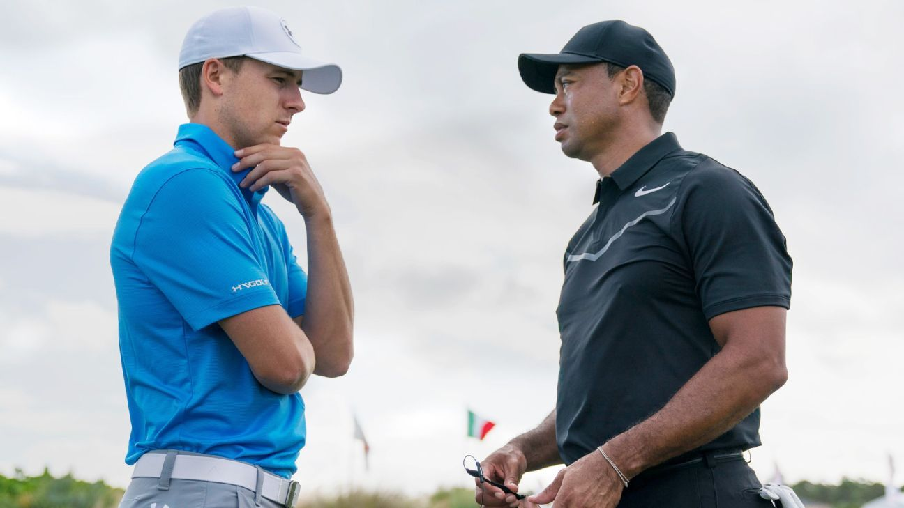 Tiger grouped with Spieth, Rose in U.S. Open