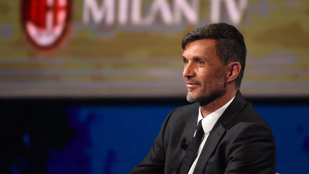 Former AC Milan defender Paolo Maldini and son Daniel infected ...