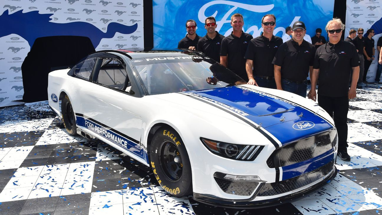 2018 nascar cup series ford drivers optimistic that transition to mustang in 2019 will be a smooth one
