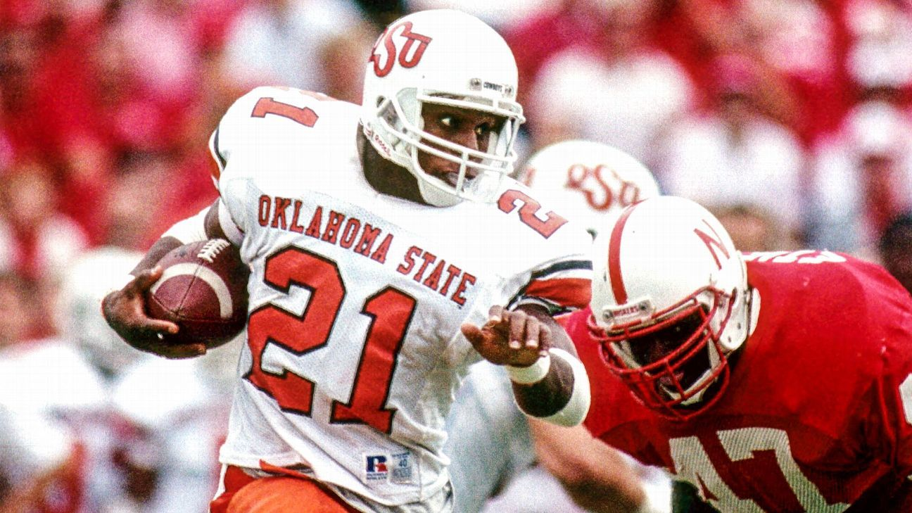 The Untold Stories Of Barry Sanders Record Setting 1988 Season