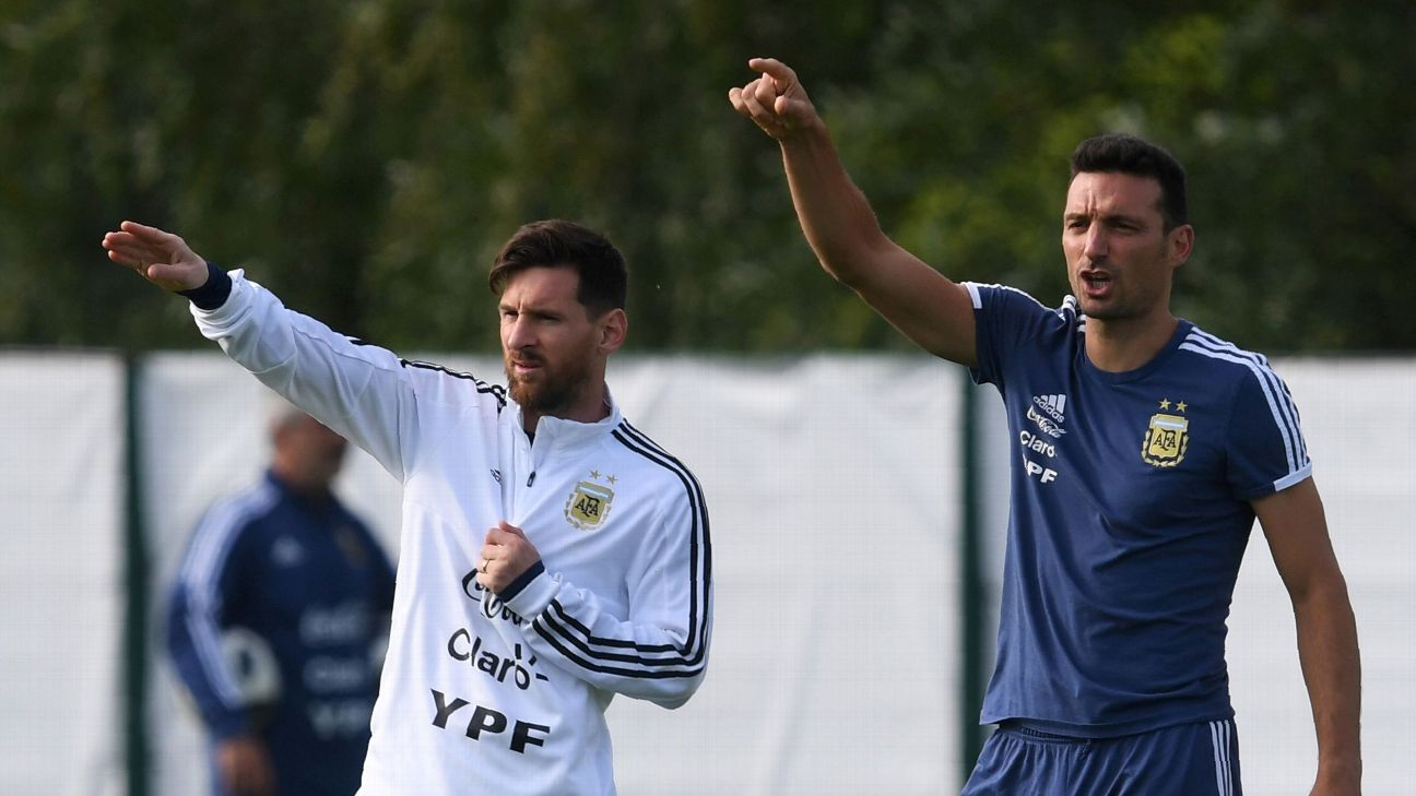 c5cf19dec Messi back in Argentina squad for March friendlies but Aguero left out