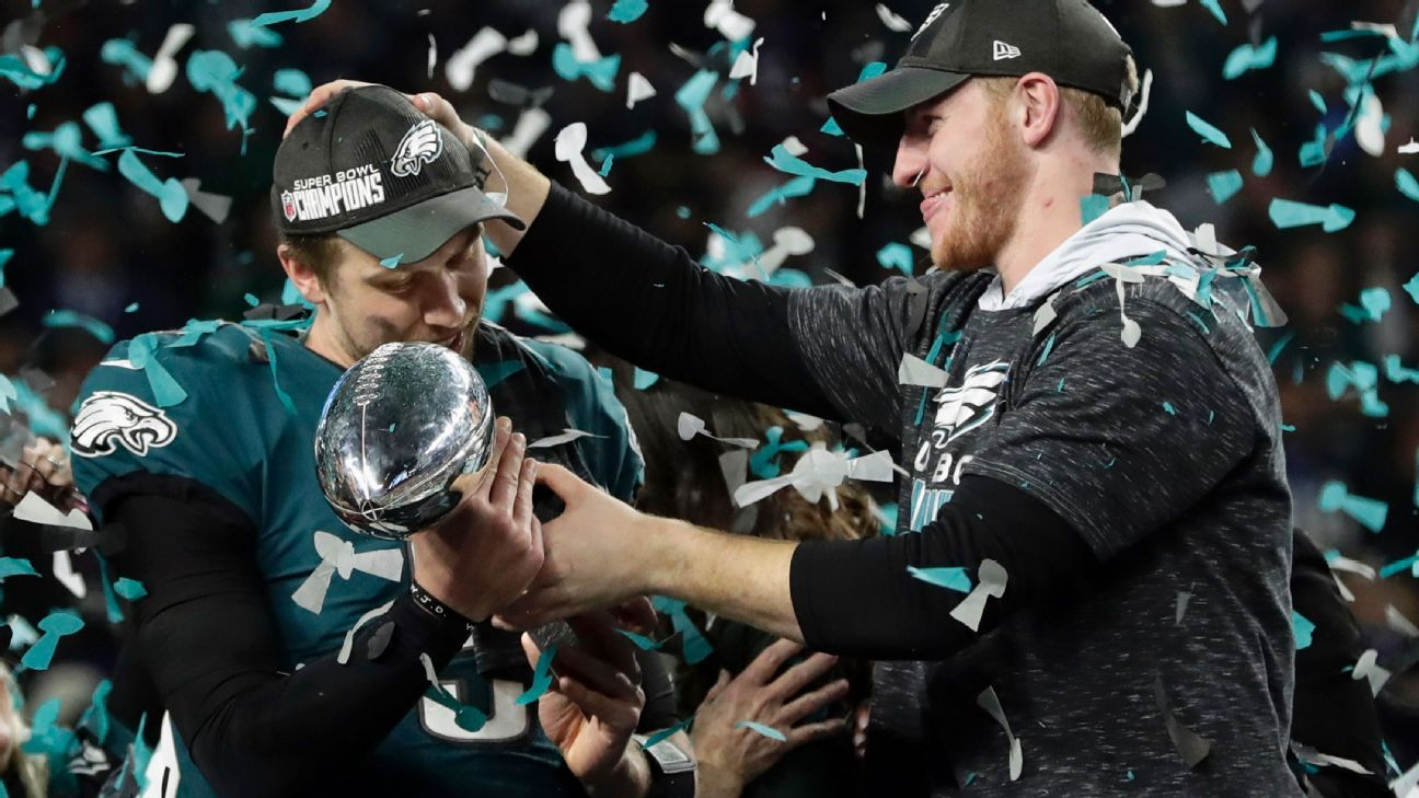 bd76dec3a Philadelphia Eagles behind several teams in odds to win Super Bowl LIII