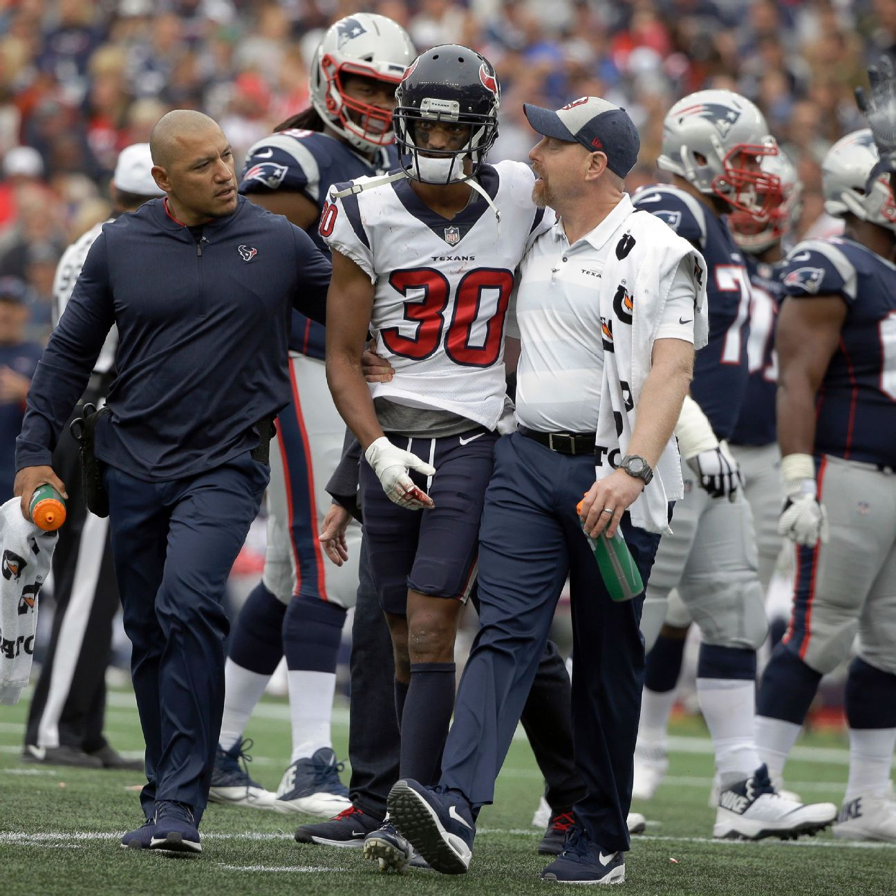 Kevin Johnson, Of Houston Texans, Ruled Out Due To Concussion