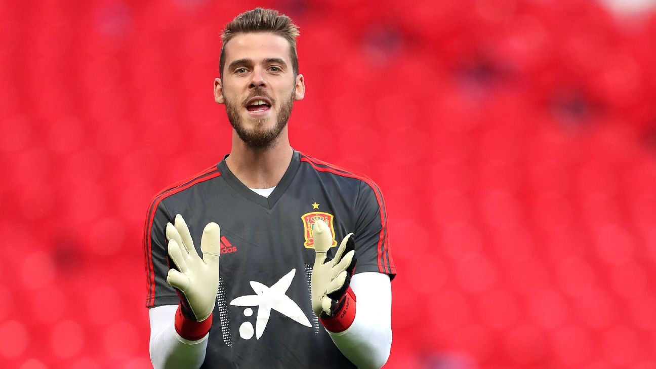 986bee007e8 David De Gea must be more involved with Spain play to replicate Man United  heroics