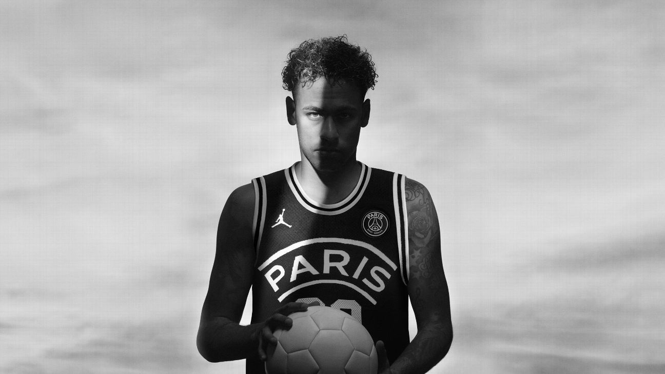newest 31e04 96d41 Neymar stars as Paris Saint-Germain launch Jordan branded kit, footwear