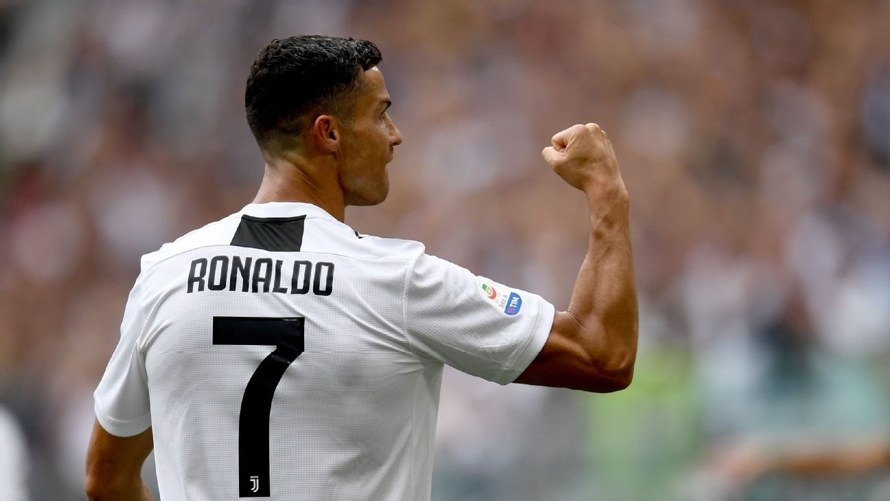 Juventus' Cristiano Ronaldo relieved to score first goals ...