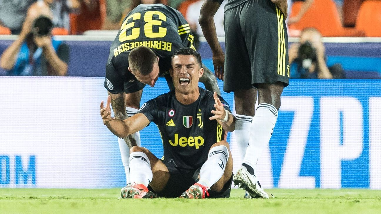 Cristiano Ronaldo red card  Can Juventus appeal  Will he miss Man United  game  e8b4cf84c277a