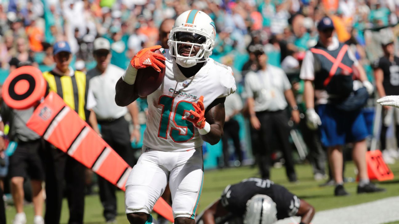 Speedy WR Grant gets extension with Dolphins