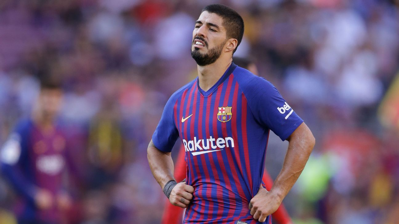 Barcelona injury list grows as Luis Suarez and Arthur ruled out of PSV clash 3a7156af4