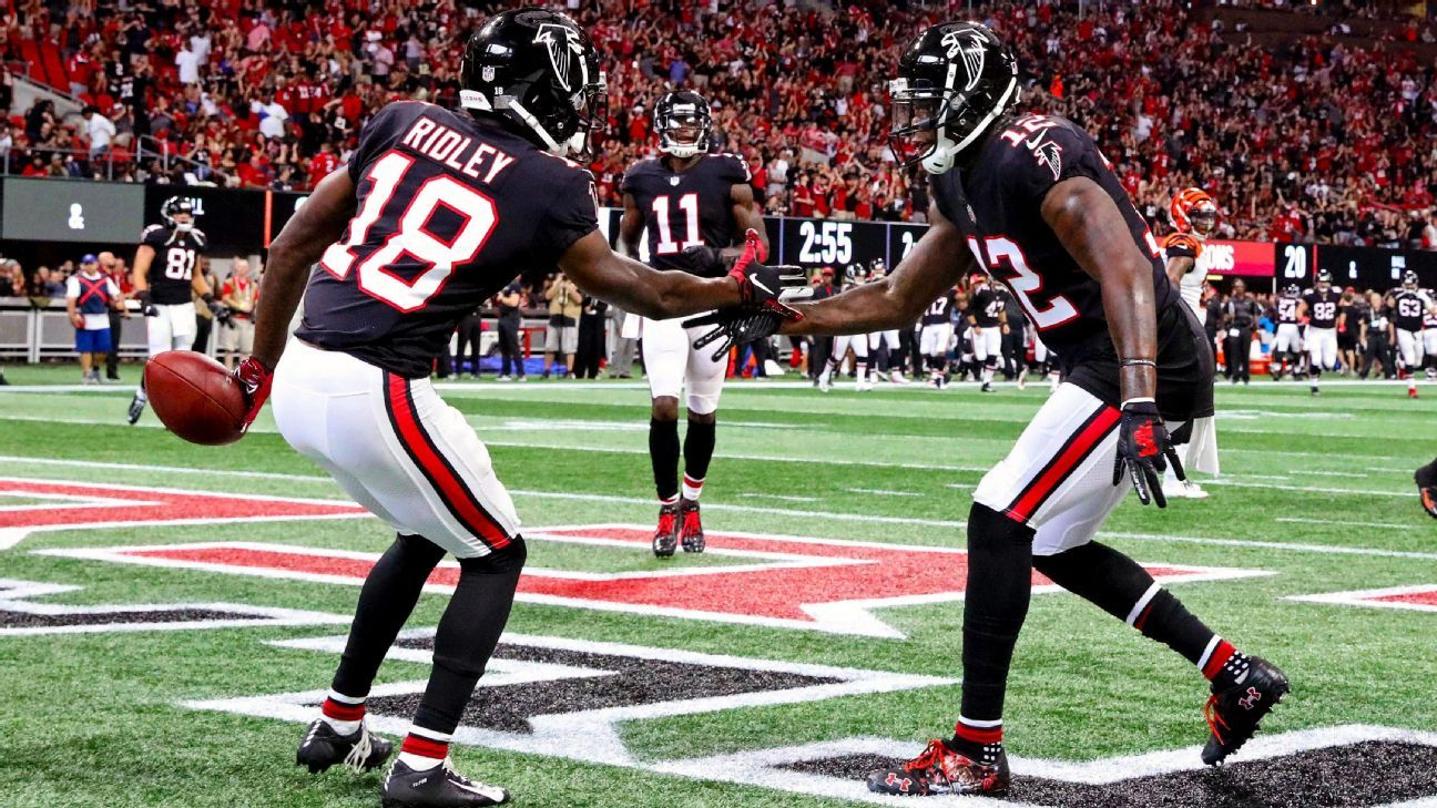 Can Falcons rookie Calvin Ridley maintain record-setting pace  - Atlanta  Falcons Blog- ESPN 42c2cd4cb