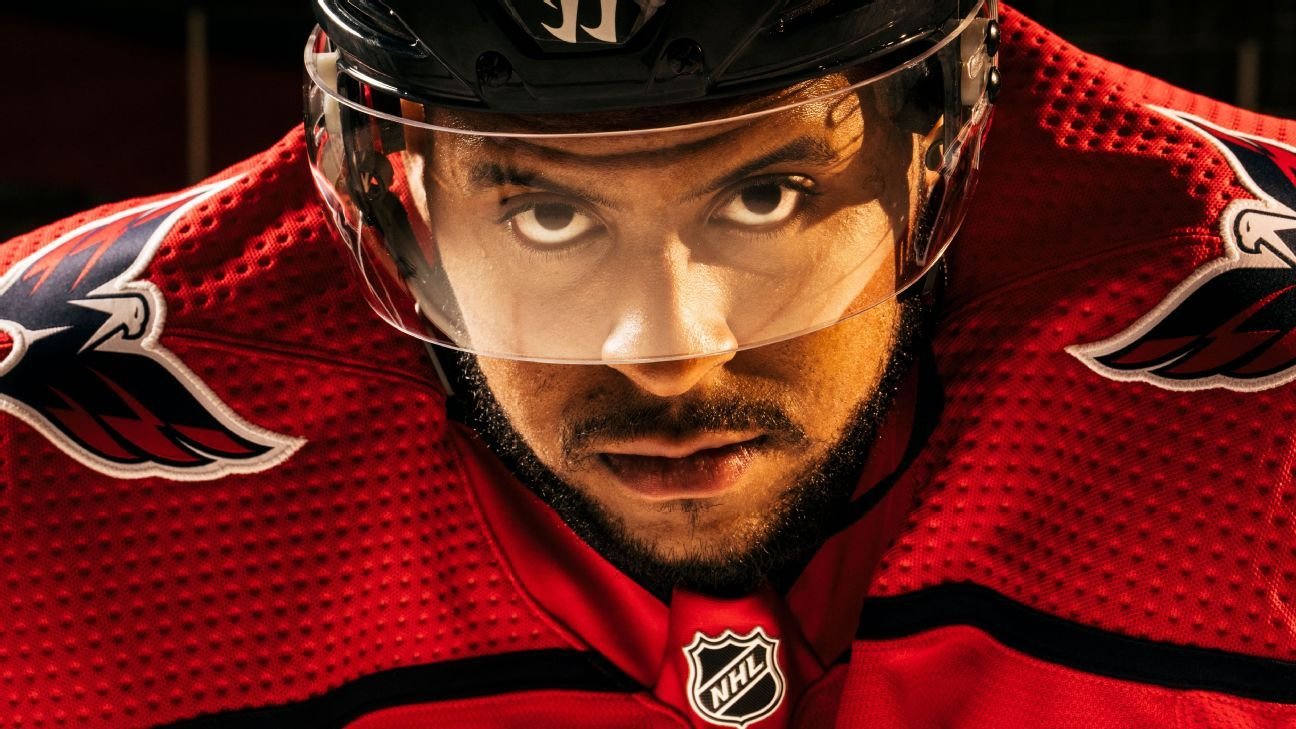 cbc10bf87f9 NHL - Washington Capitals winger Devante Smith-Pelly embracing role model  status