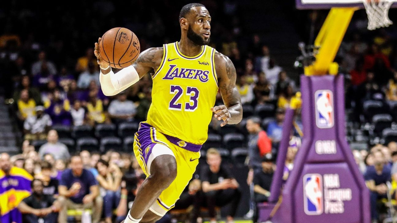 233835f28 LeBron James ready to run with Los Angeles Lakers - NBA