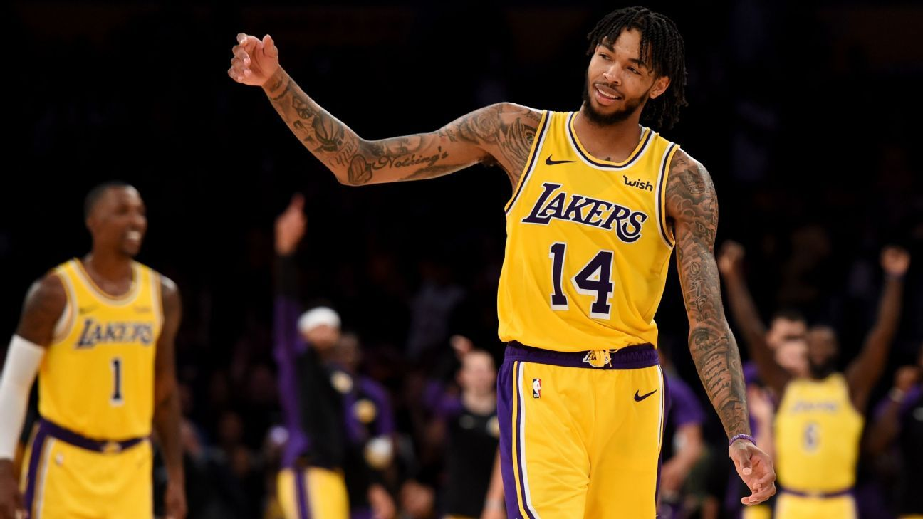 911f50ebf Brandon Ingram: LeBron James, Rajon Rondo injuries 'chance for me to just  up my game a little bit'