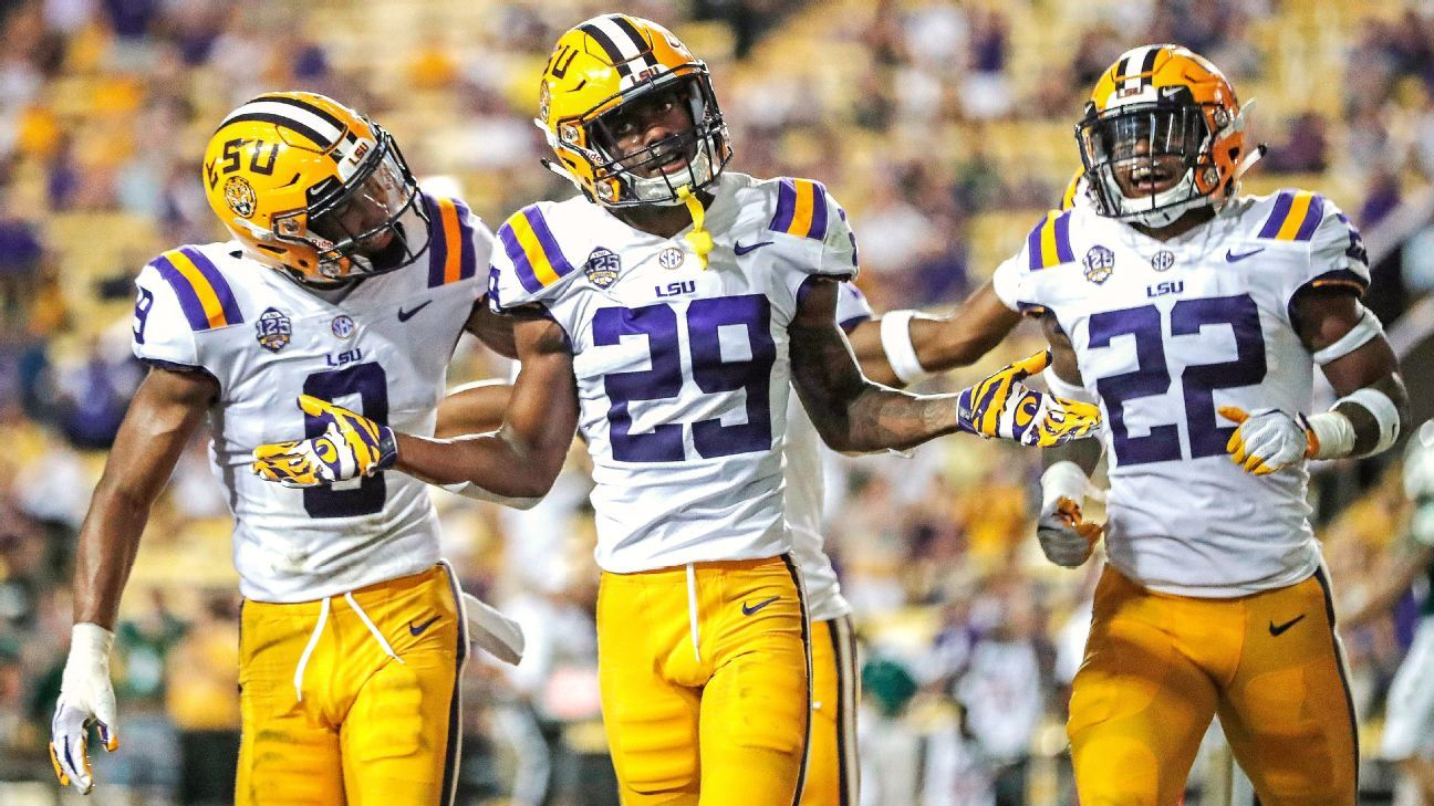 d0d3ff77370 Greedy Williams LSU Tigers latest great defensive back