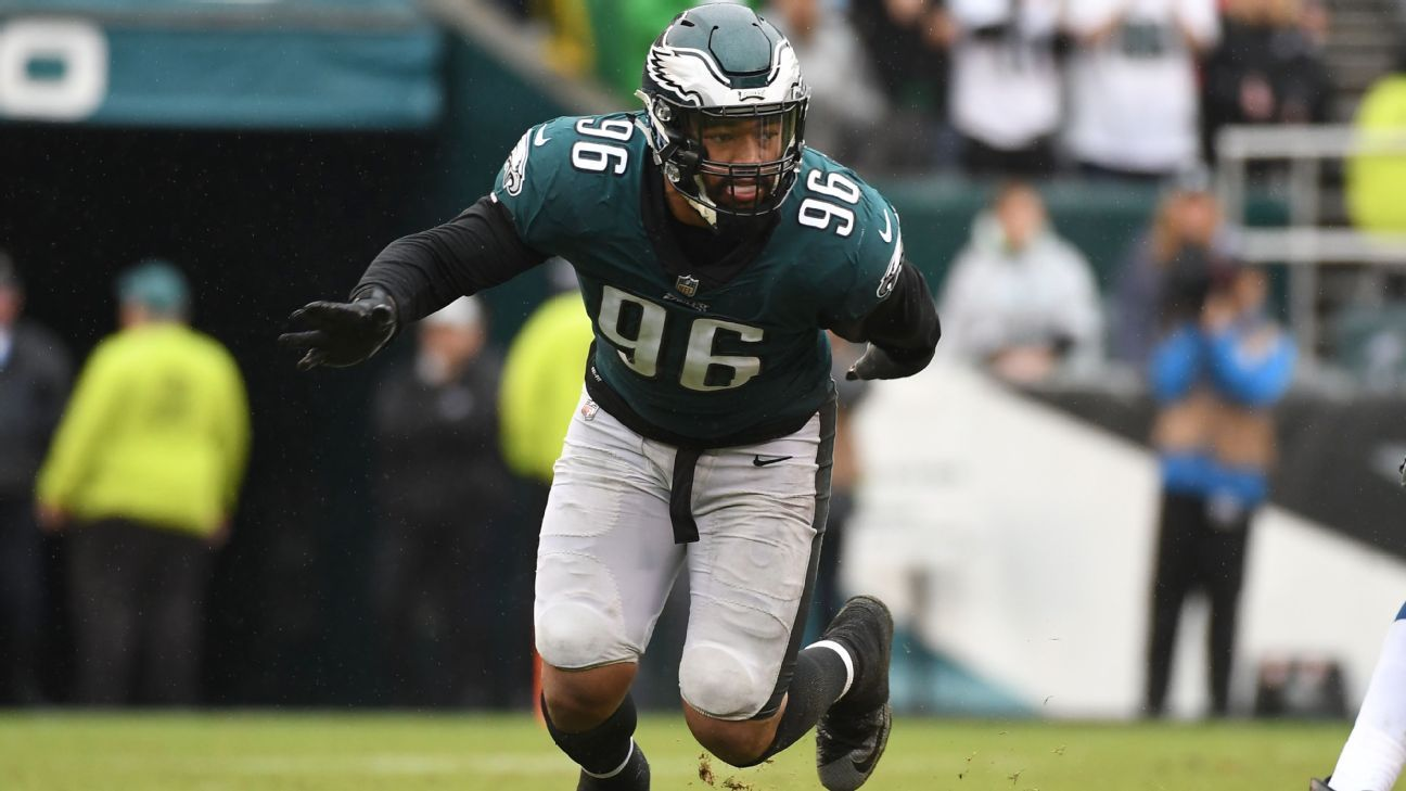 detailed look fe65e 69e39 Derek Barnett of Philadelphia Eagles out rest of season