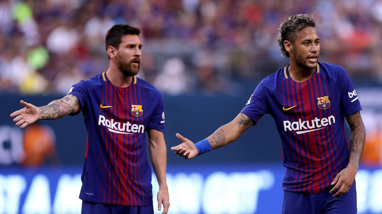 Messi 'not sure' if Barca did all to sign Neymar