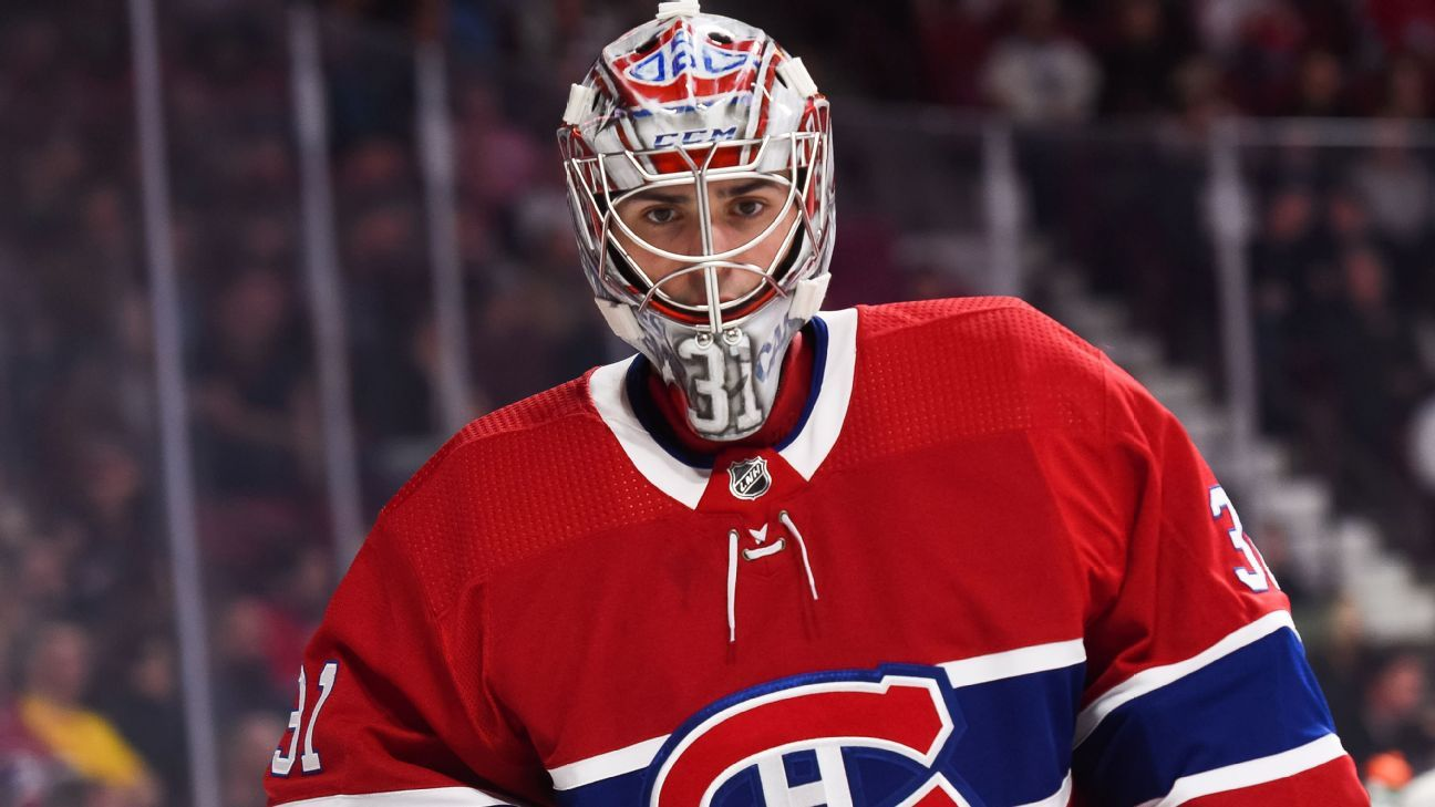 Montreal Canadiens' Carey Price takes leave, enters NHL player assistance program