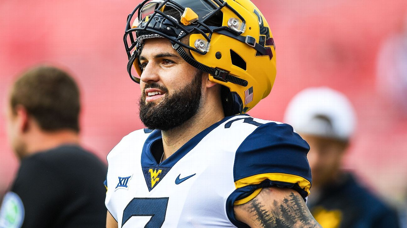 official photos 165fe c898c West Virginia Mountaineers QB Will Grier to skip bowl game ...