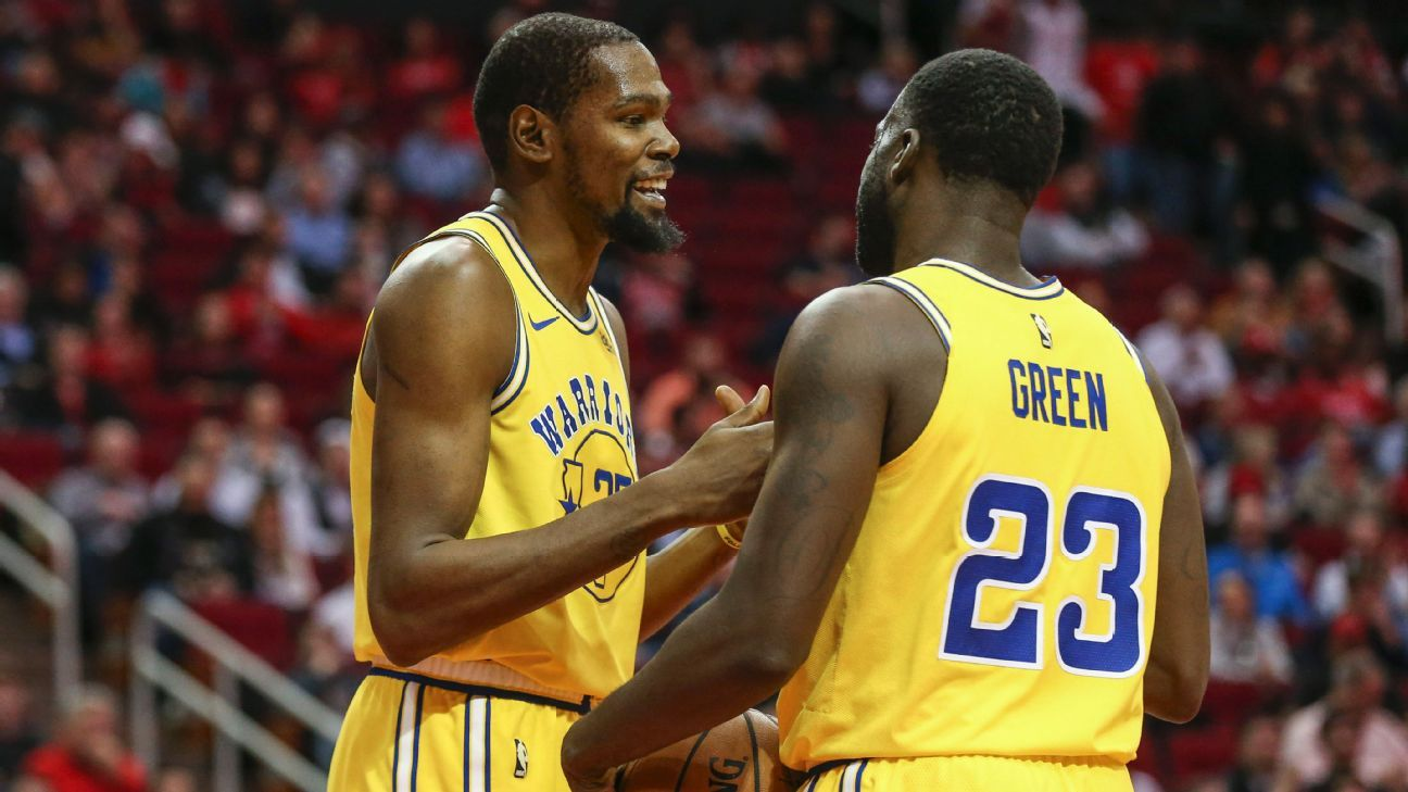 67f914822d6 Kevin Durant of Golden State Warriors not addressing Draymond Green  incident again