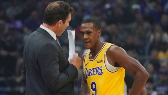 Inside the mentality of Lakers point guard Rajon Rondo