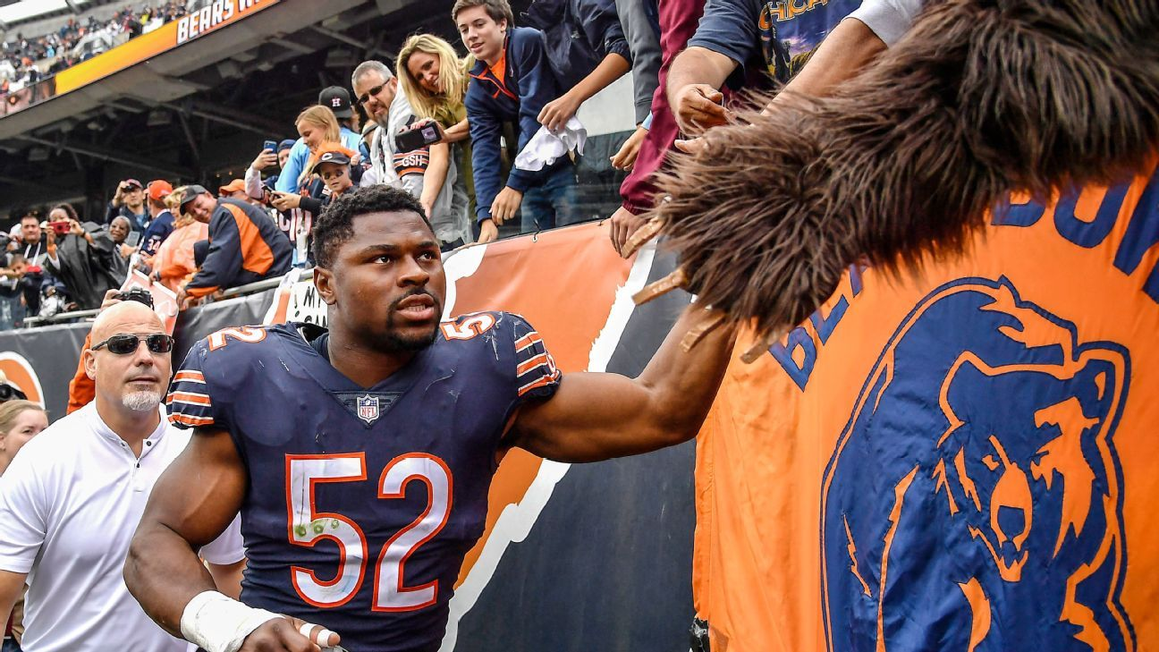 Inside the love story between Khalil Mack and Chicago - Chicago Bears Blog-  ESPN 7e606611a