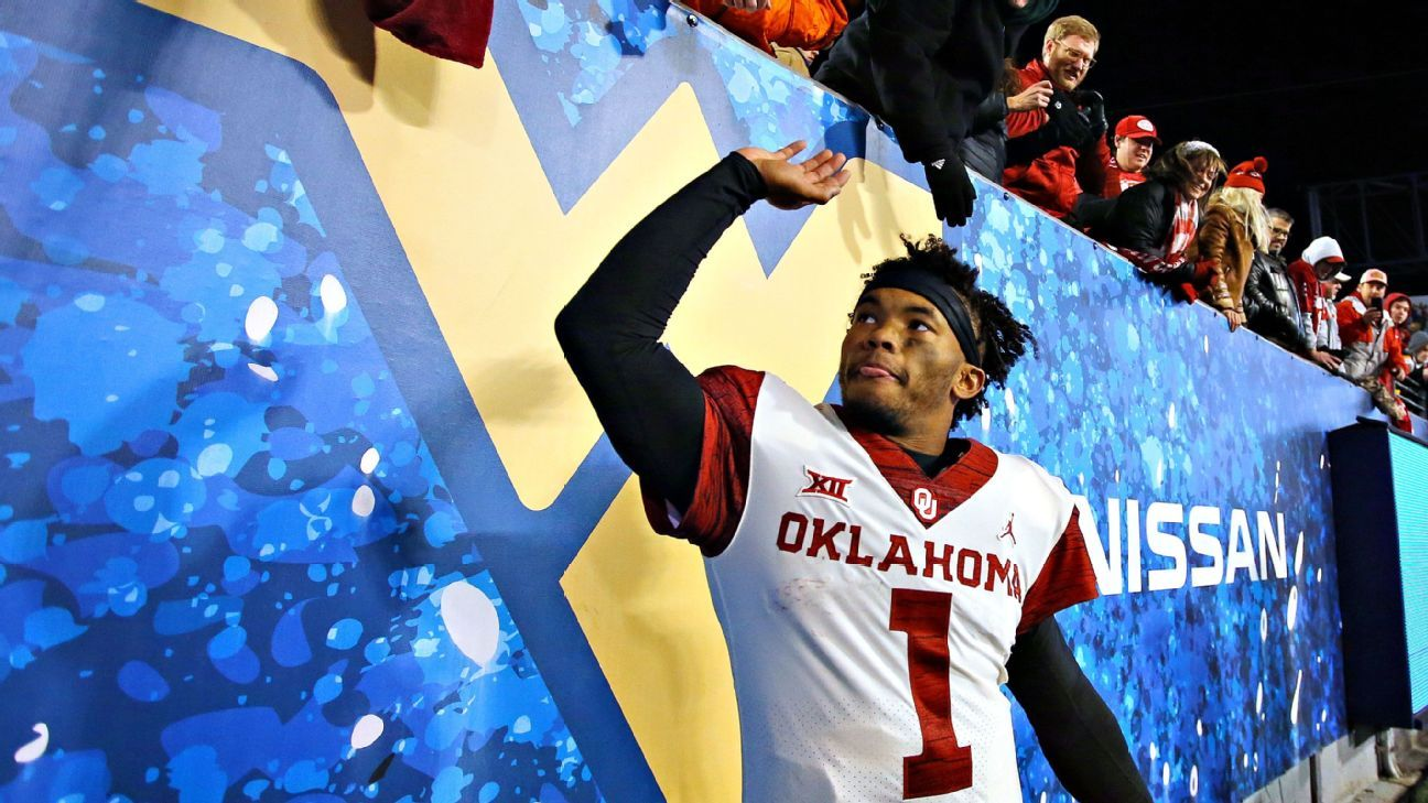 Oklahoma football was just going to be a stop on Kyler Murray's eventual MLB journey. Instead, he became a sensation and NFL prospect.
