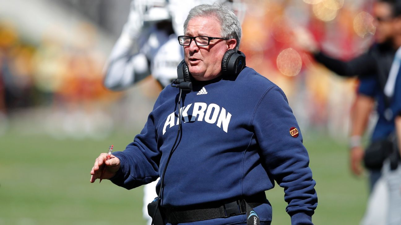 Terry Bowden Fired As Head Coach Of Akron Zips