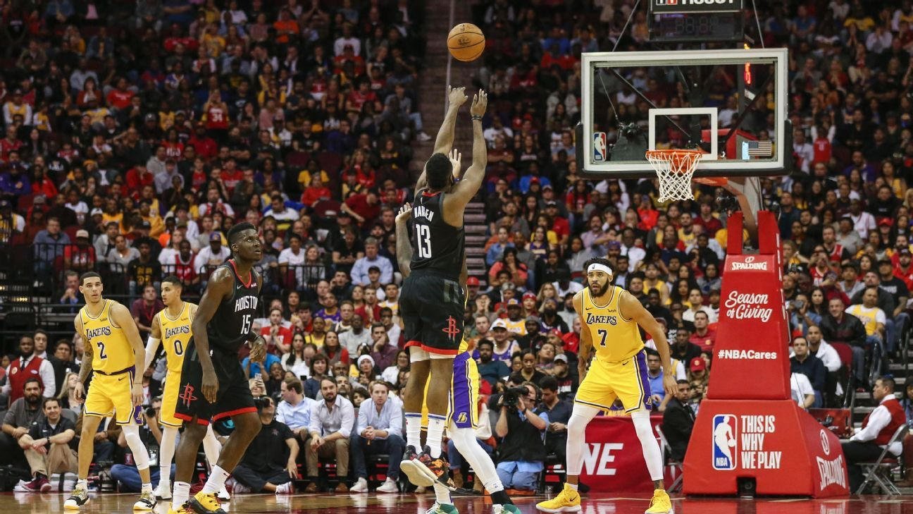 5f568012d51b James Harden s fourth 50-point triple-double carries Houston Rockets to  victory