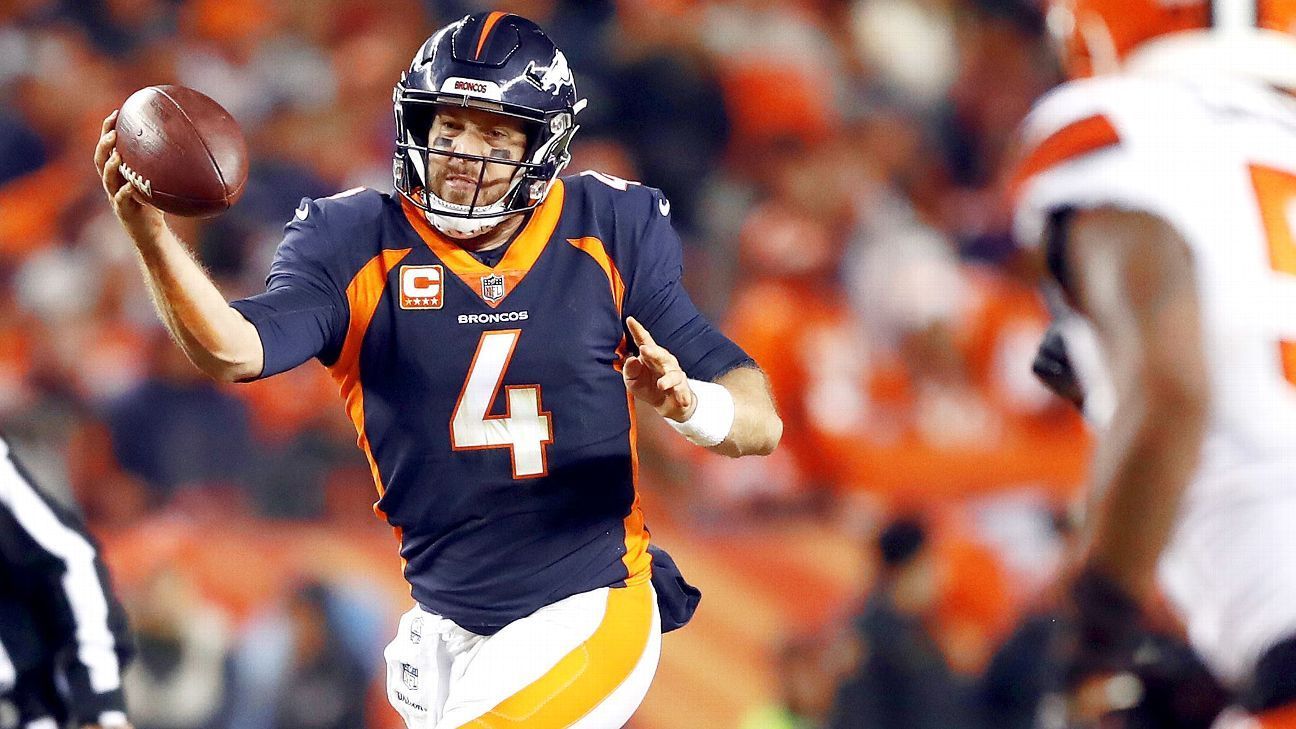 f969048465b Sources - Broncos trading Keenum to Redskins