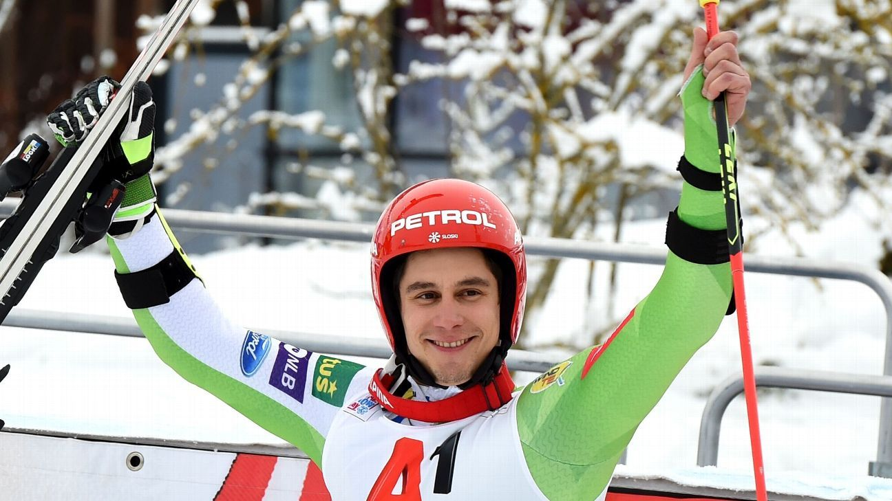 Kranjec 1st Slovenian man to win World Cup GS