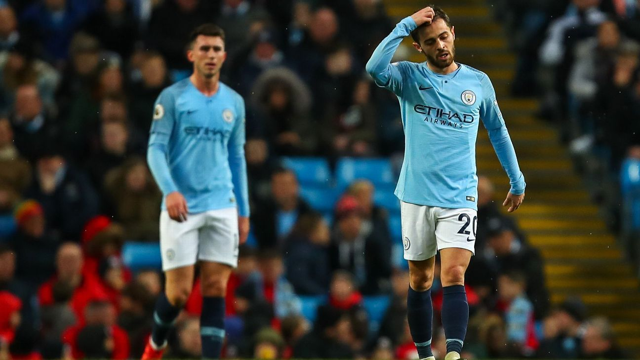 Man City prove they're feeling the pressure