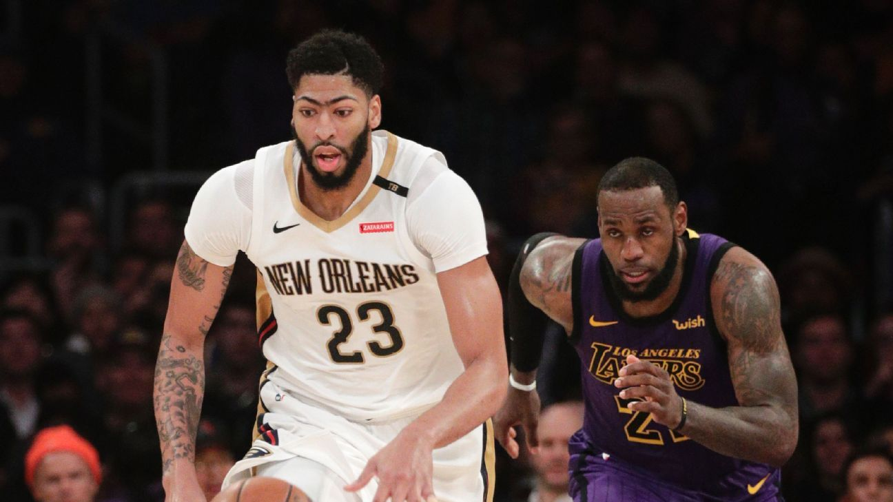 Anthony Davis trade talk is the biggest story in the NBA beb045952
