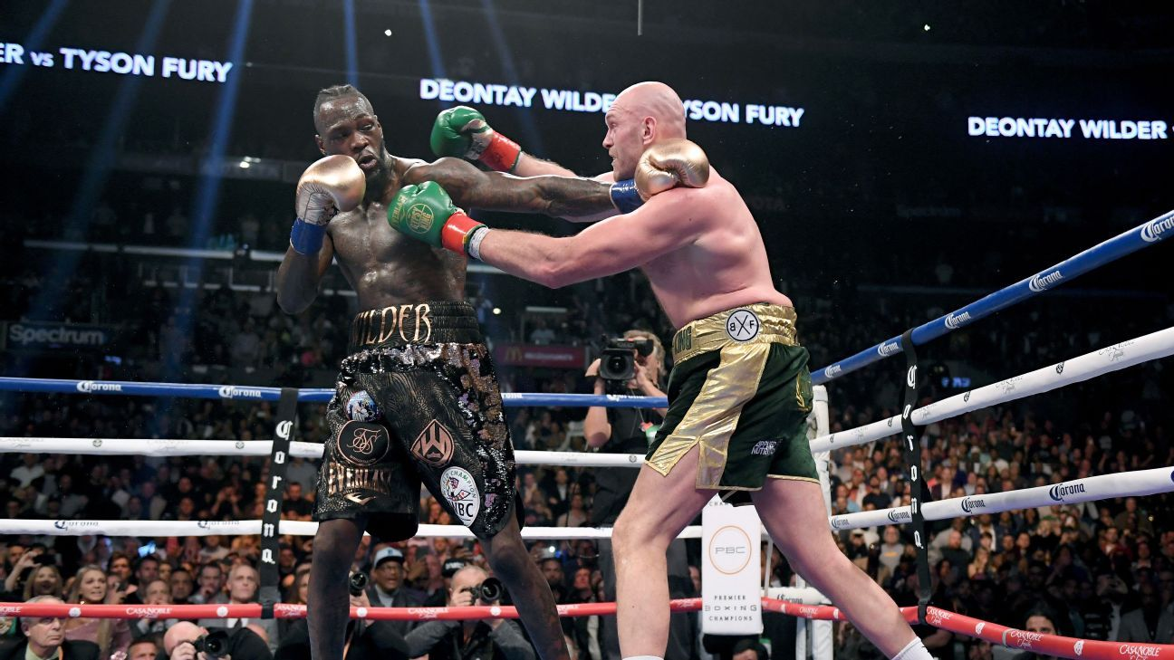 Wilder-Fury II set for Feb. 22; site not finalized