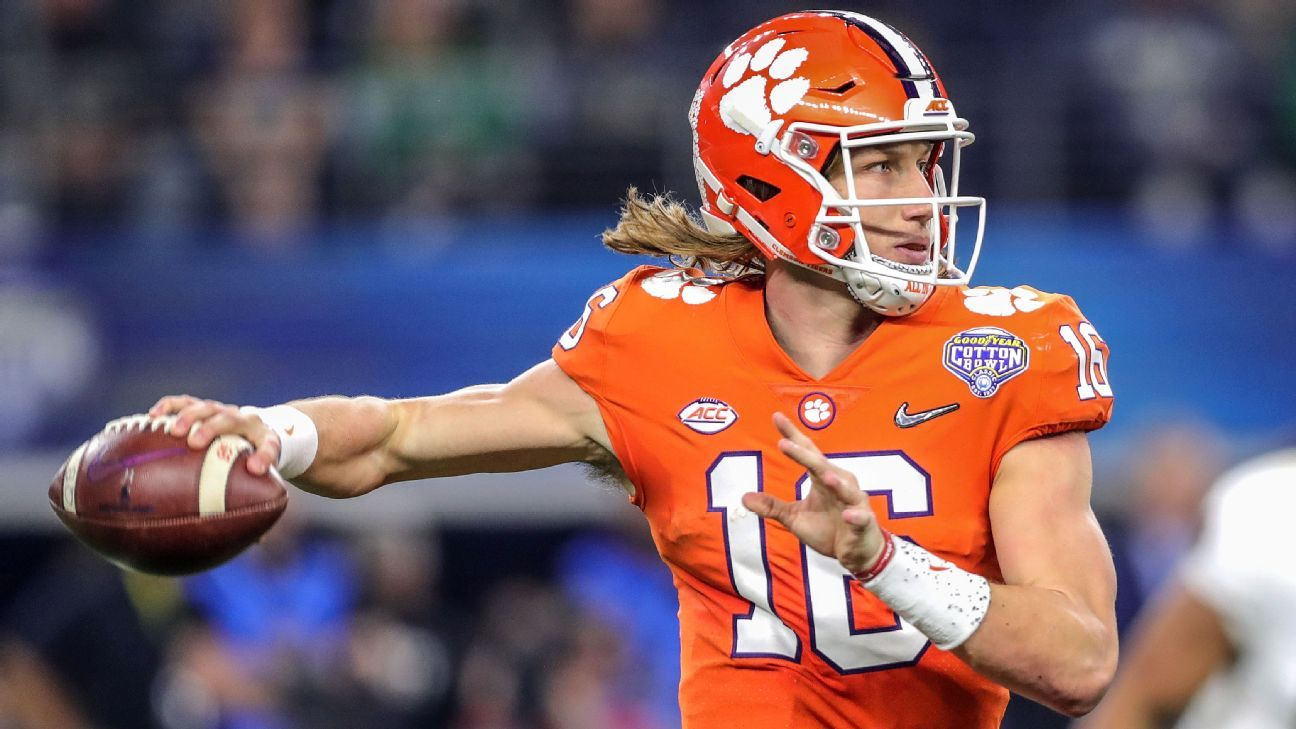 Trevor Lawrence has Clemson atop quarterback Future Power Rankings