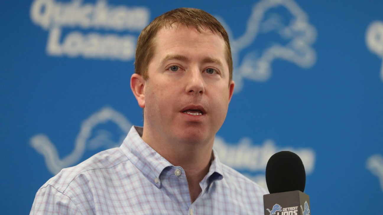 Lions trading up? GM Bob Quinn doesn't have the 'ammunition'