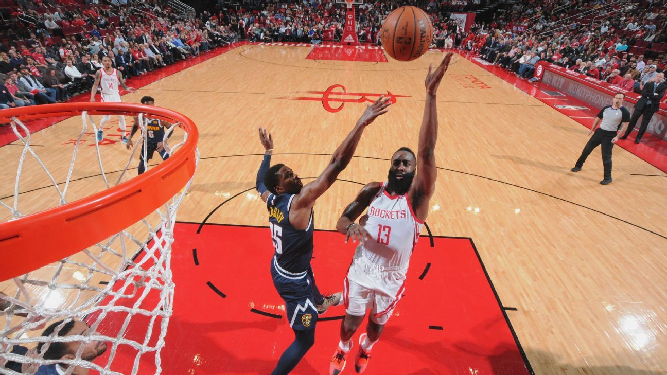 a3ac9f600cd3 NBA -- James Harden s patient approach for Houston Rockets helps Clint  Capela to career high