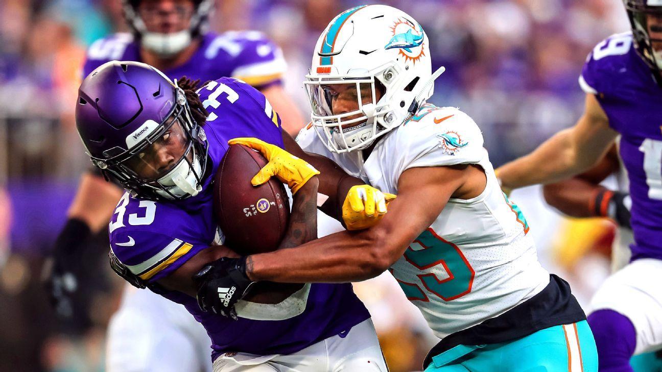 Minkah Fitzpatrick, Jerome Baker give Miami D long-term promise