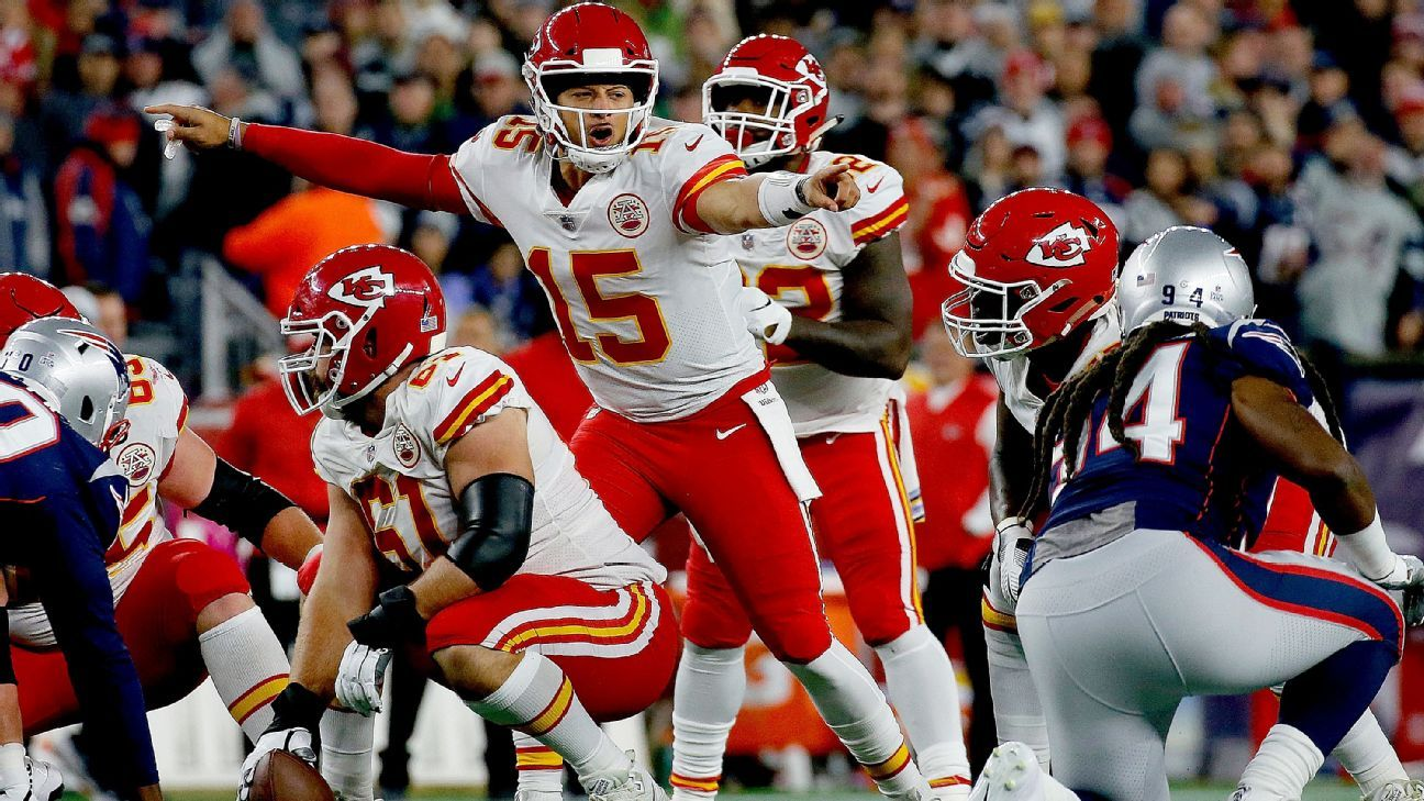 The Chiefs have shifted to the 6-1 favorite at multiple Las Vegas sportsbooks, ahead of the Rams, Patriots and Saints.